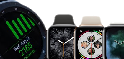Comparacion Samsung Galaxy Watch vs Apple Watch Series 4