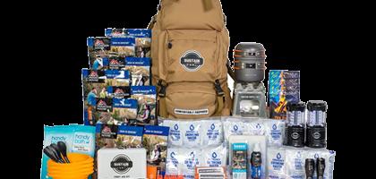 Kit de supervivencia de emergencia para la familia