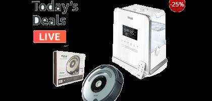 Ofertas del día - iRobot Roomba, Humidificadores, pijamas y otros
