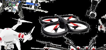 Qué es un dron Tricopter, Quadcopter, Hexacopter y Octocopter