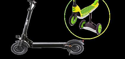 Scooter electrica para niños